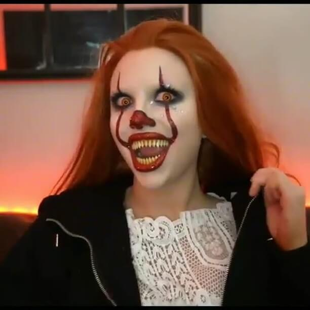 133+ Halloween makeup and dress-up, I believe everyone will like it.halloween, makeup, pretty, Looks, style